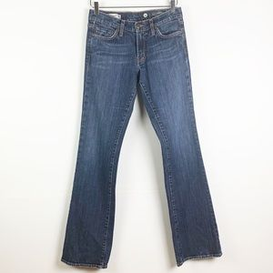 Red Engine Stone Washed Scarlett Bootcut Jean 28
